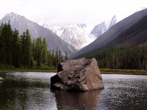 Сибирь. Шавлинские озера.