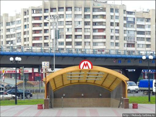 Первая станция омского метро.