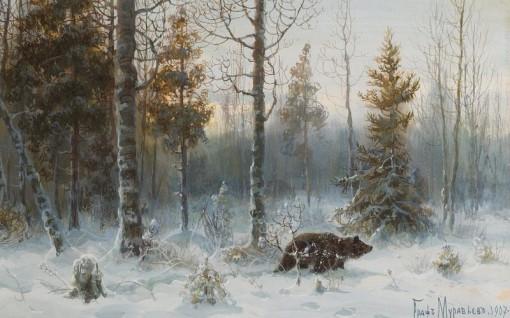 Сибирь зимой