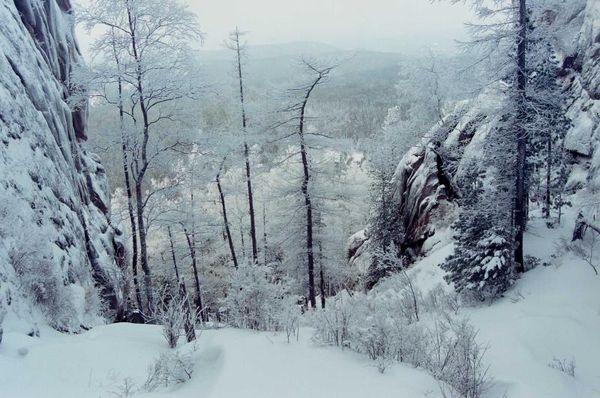 Картинки сибирь зимой