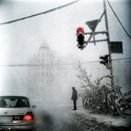 Сибирь зимой. Стив Люнкер. Якутск.