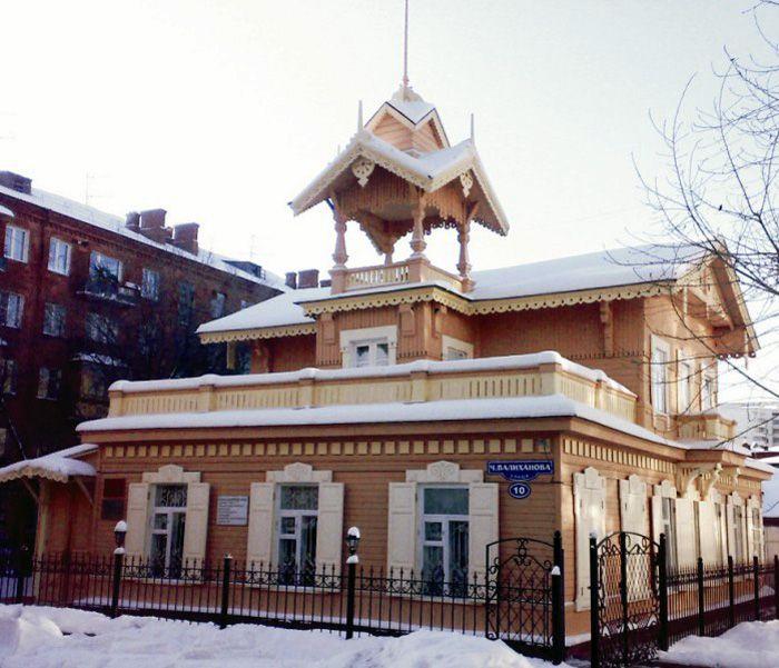 Омские музеи