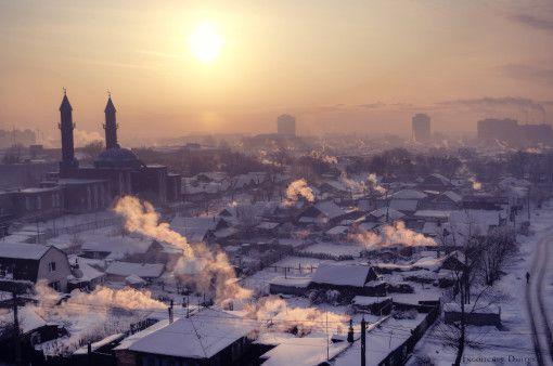 Омск. Фото - Дмитрий Инголычев.