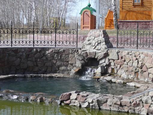 Святой источник Ачаирского монастыря