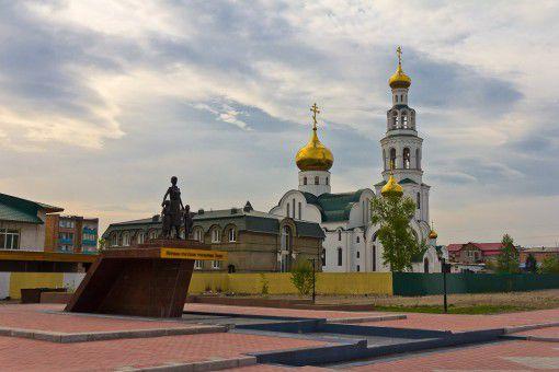 Памятник первым русским учителям Тувы