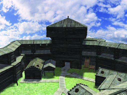 Древнее городище Эмдер