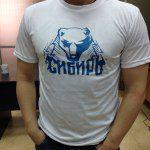 футболка-это сибирь полиэстр