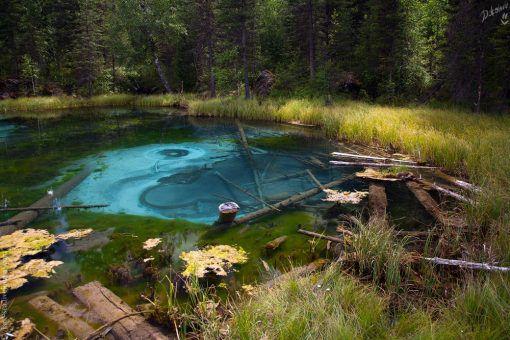 Голубые озера
