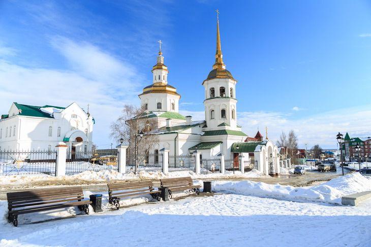 Храм Покрова Пресвятой Богородицы в Ханты-Мансийске