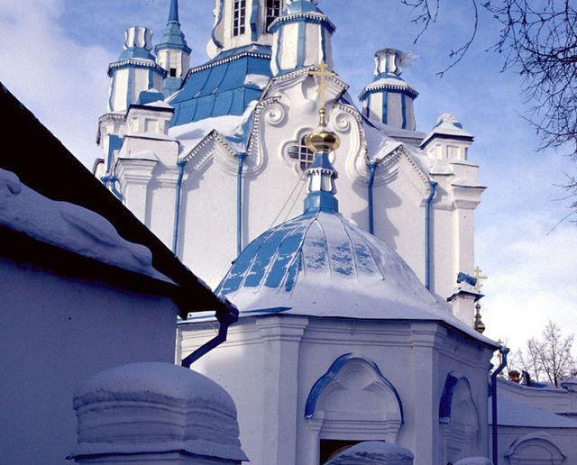 Знаменская церковь в Тюмени (1768-86)
