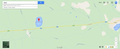 Озеро Арей - Как добраться