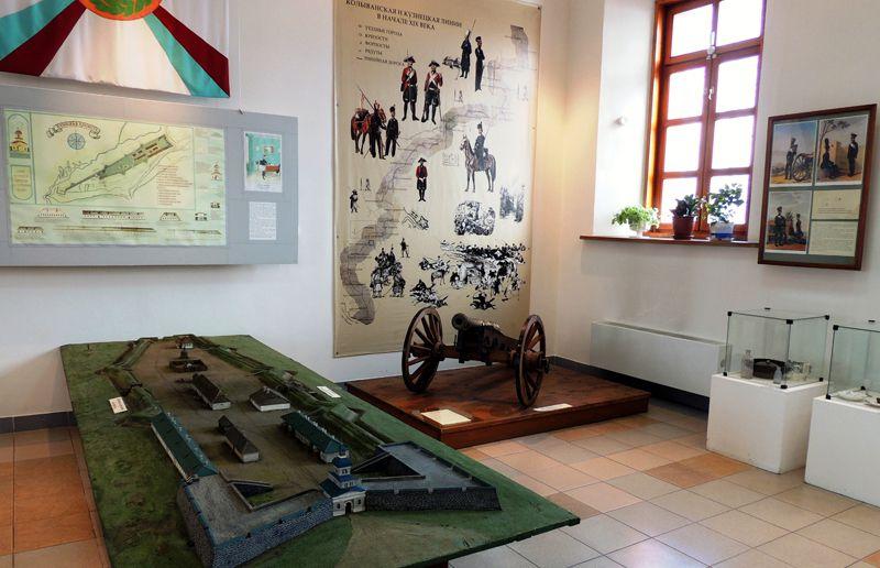 """Выставочный зал музея """"Кузнецкая крепость"""""""