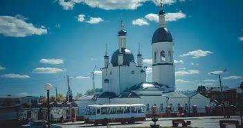 Свято-Троицкий кафедральный собор в Канске