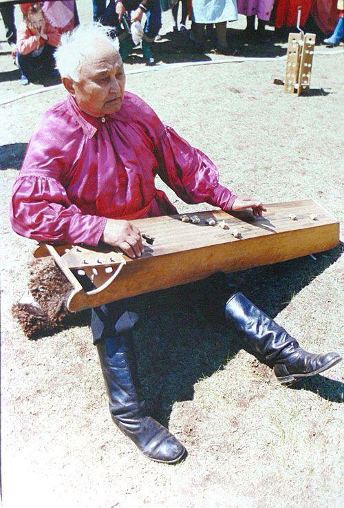 Хакасский музыкант