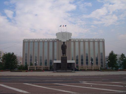 Площадь Ленина, здание администрации