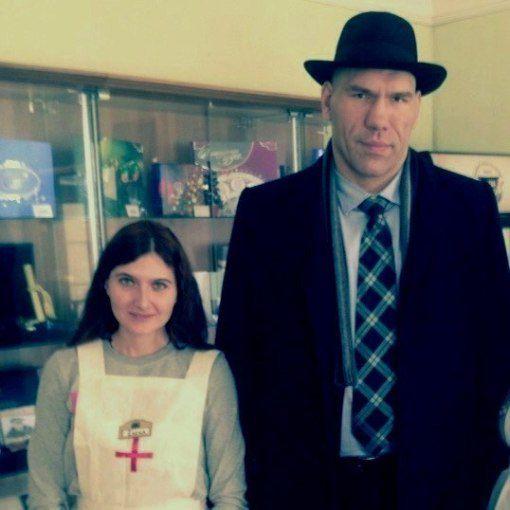 Николай Валуев посетил центр алтайского гостеприимства Источник: http://vk.com/club46777091