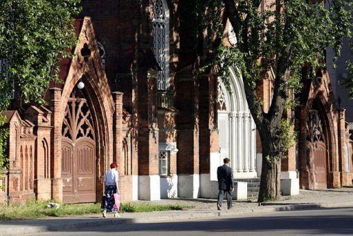 Польский костёл Источник: сибирь-инфо.рф