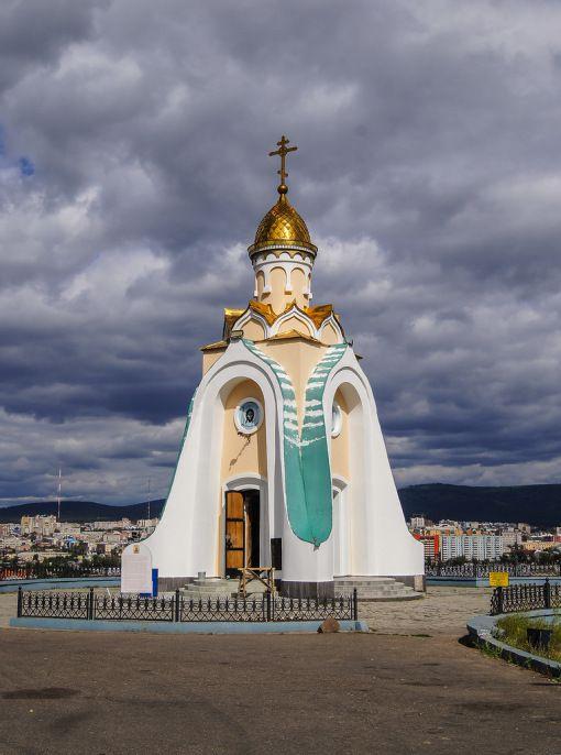 Часовня Александра Невского Источник: rudolf-khb.livejournal.com