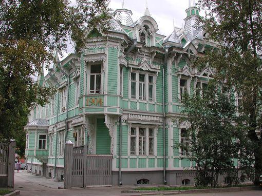 Особняк архитектора Хомича Источник: http://volos-t.livejournal.com/8611.html
