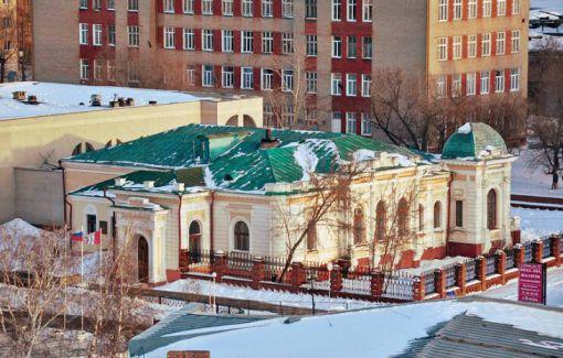 Центр изучения истории Гражданской войны - личная резиденция Верховного правителя России адмирала А. В. Колчака Источник: http://www.ikz.ru/siberianway/omsk/civilwar.html
