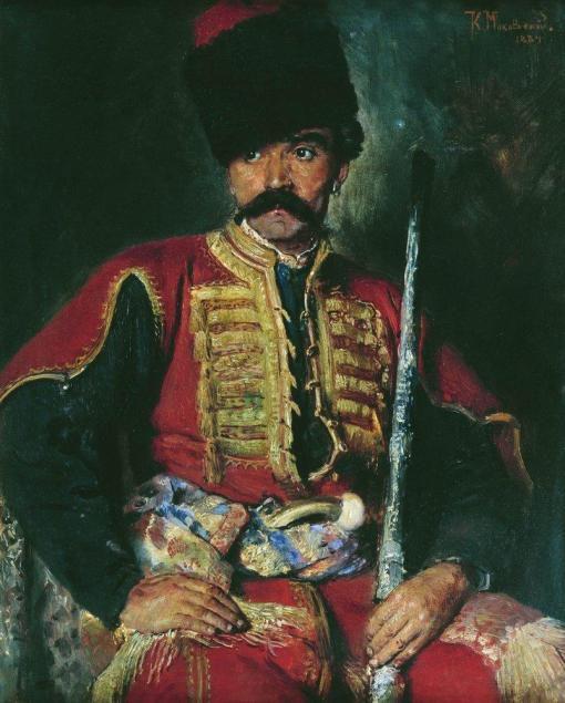 Запорожский казак источник: ru.wikipedia.org/wiki/Забайкальские_казаки