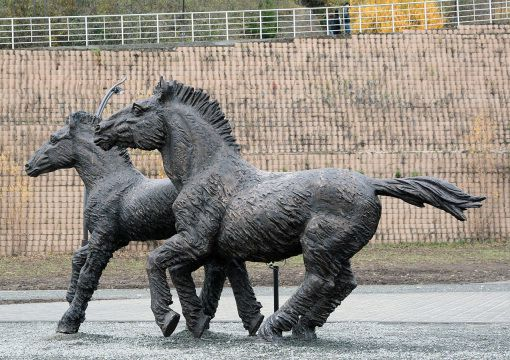 """Табун древних лошадей"""