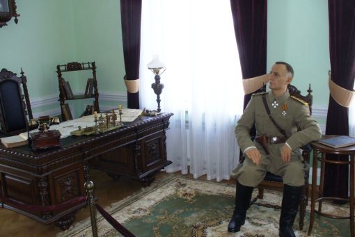 Кабинет Колчака Источник:http://www.ikz.ru/siberianway/omsk/civilwar.html