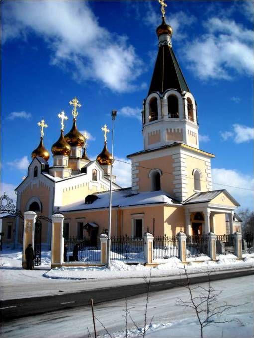 Градоякутская Спасо-Преображенская церковь Источник:www.bguep-yakutsk.ru