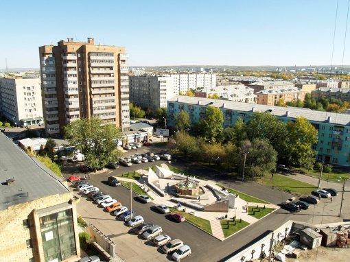 Площадь влюбленных в Красноярске Источник:http://www.arban.ru/