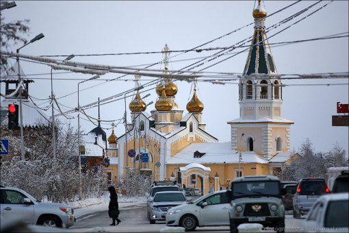 Градоякутская Спасо-Преображенская церковь Источник:rumap.net