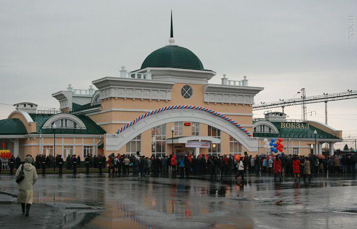Железнодорожный вокзал Новоалтайска Источник:http://novoaltaysk.sutochno.ru/gorod