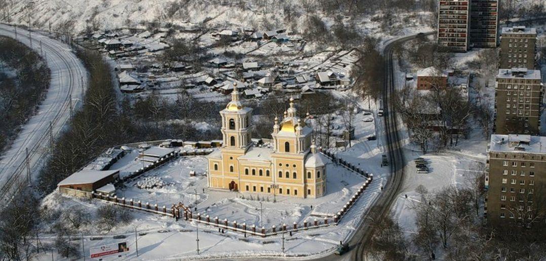 Спасо-Преображенский собор (вид сверху)