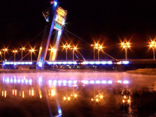 """Вантовый мост """"Факел"""""""