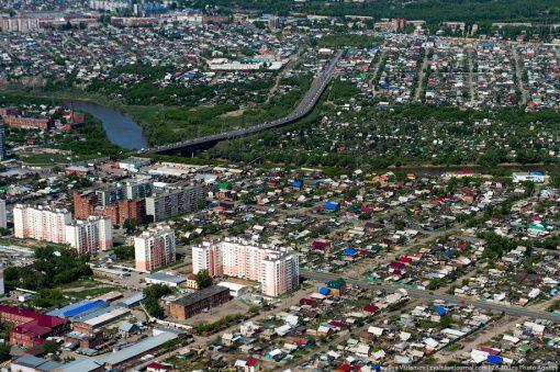 Частный сектор Омска