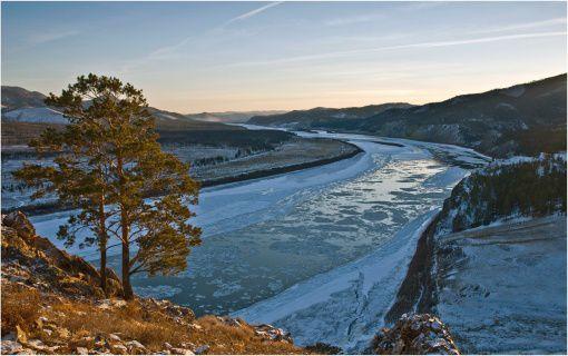 Река озера Байкал Селенга
