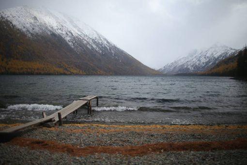 озеро горного алтая