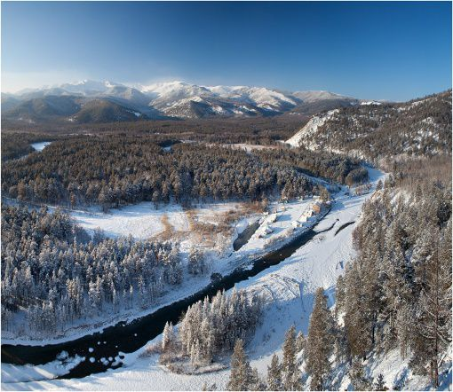 река озера Байкал Баргузин