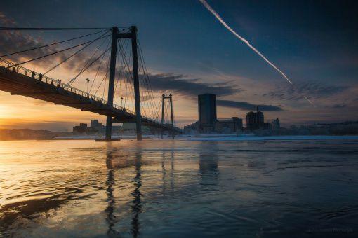 Вантовый мост, Красноярск, Фото