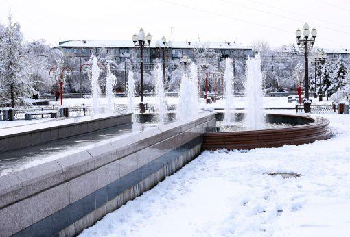 Красноярск, Фонтаны, фото