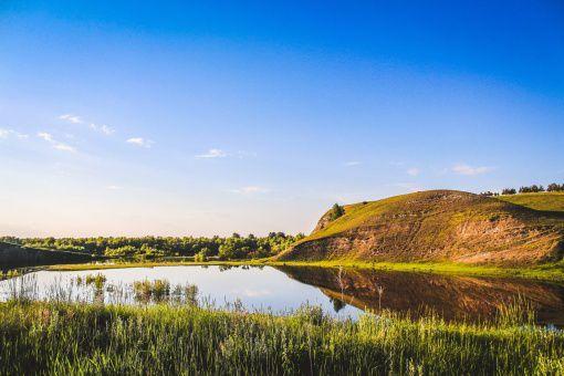 село Серебряное, Омская область, Фото