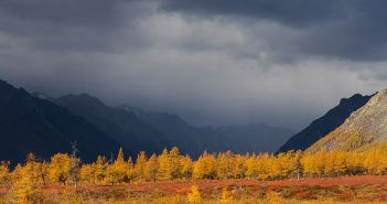 река Кенилибит, хребет Черского, Якутия, Фото