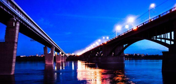 Новосибирск, набережная.  фото: Кирюха Тудегешев