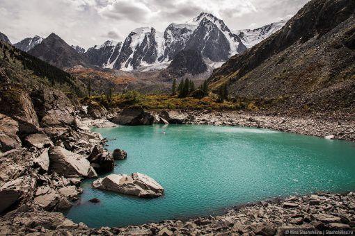 Шавлинское Озеро, Алтай, Фото