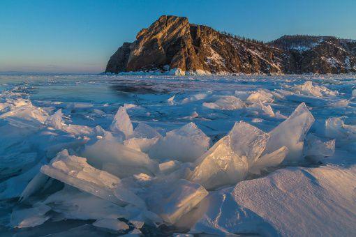Байкал, Мыс Хобой, Закат, фото