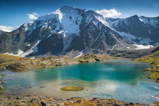 Долина Ак-Кема, Горный Алтай, фото