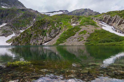 Горный Алтай, Усть-Коксинский район, Гора Красная, Нижнее озеро, фото