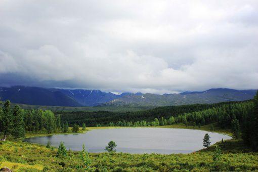 Алтай, озеро Киделю, фото