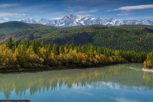Осенняя Чуя, Северо-Чуйский хребет, Алтай, Фото