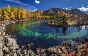 Озеро Олон-Нур, Окинский район, Бурятия, Фото