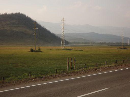Тажеранская степь, Иркутская область, фото